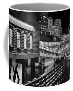 Black And White Tea Party Coffee Mug