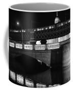 Black And White Train Coffee Mug