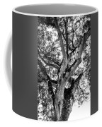 Black And White Tree Coffee Mug