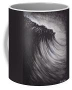 Black And White Wave Guam Coffee Mug