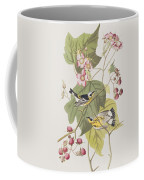 Black And Yellow Warblers Coffee Mug