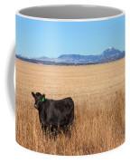 Black Angus Looking Coffee Mug