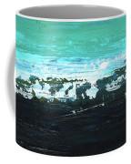 Black Beach Coffee Mug