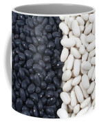 Black Beans And White Beans Coffee Mug