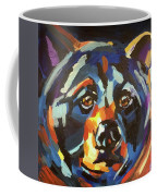 Black Bear - Black Night Coffee Mug