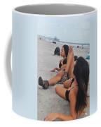 Black Bikinis 10 Coffee Mug