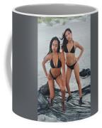 Black Bikinis 4 Coffee Mug