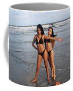 Black Bikinis 65 Coffee Mug
