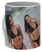 Black Bikinis Coffee Mug