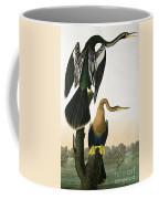 Black Billed Darter Coffee Mug by John James Audubon