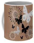 Black Butterflies Coffee Mug