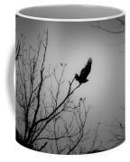 Black Buzzard 1 Coffee Mug