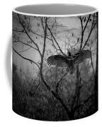 Black Buzzard 3 Coffee Mug