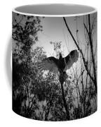 Black Buzzard 4 Coffee Mug