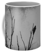 Black Buzzard Moon Coffee Mug