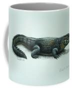Black Caiman Coffee Mug