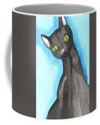 Black Cat Magic Coffee Mug