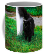 Black Cat Maine Coffee Mug