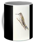 Black Chinned Hummingbird Coffee Mug