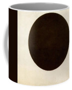 Black Circle Kazimir Malevich Coffee Mug