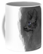 Black Cornish Rex No 04 Coffee Mug
