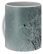 Black Crow White Snow Coffee Mug