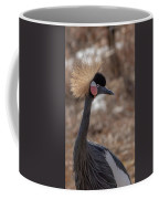 Black Crowned Crane 1 Coffee Mug