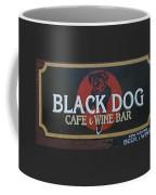 Black Dog Cafe And Wine Bar Coffee Mug