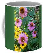 Black Eye Susans And Echinacea Coffee Mug