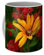 Black-eyed Susan And Yarrow Coffee Mug