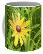 Black Eyed Susan V Coffee Mug