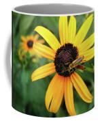 Black-eyed Susan With Soldier Beetle  Coffee Mug