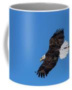 Black Feather Bald Eagle Coffee Mug