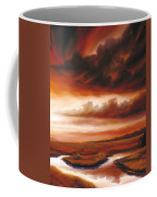 Black Fire Coffee Mug
