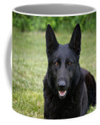 Black German Shepherd Dog II Coffee Mug