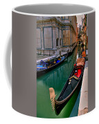 Black Gondola Coffee Mug
