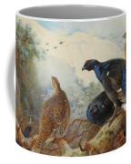 Black Grouse And Gamebirds By Thorburn Coffee Mug