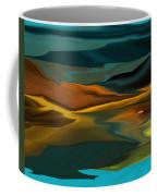 Black Hills Abstract Coffee Mug by David Lane