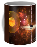 Black Hole Coffee Mug by Corey Ford