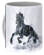 Black Horse Coffee Mug