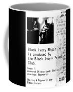 Black Ivory Issue 1 Page 2 Coffee Mug