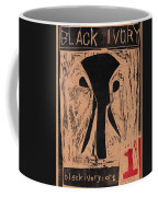 Black Ivory Issue 1 Woodcut Coffee Mug