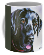 Black Lab No Ordinary Love Coffee Mug