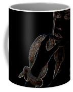 Black Light Coffee Mug