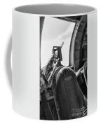Black Machine Gun Wwii Coffee Mug