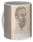 Black Man With Earing Coffee Mug