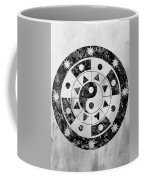Mandala-black Coffee Mug