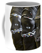 Black Masks Coffee Mug