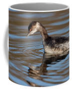 Black-necked Grebe About To Dive Coffee Mug