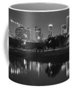 Black Night In Fort Worth Coffee Mug